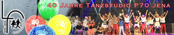 40 jahre Tanzstudio P70